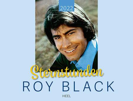Kalendercover Roy Black Kalender 2022 - Sternstunden | Heel Verlag