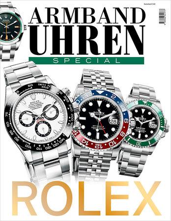 Bookazine Cover Armbanduhren Special - Rolex | Heel Verlag