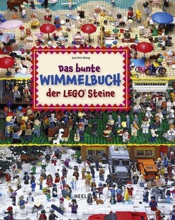 Buchcover Das bunte Wimmelbuch der Legosteine   Heel Verlag