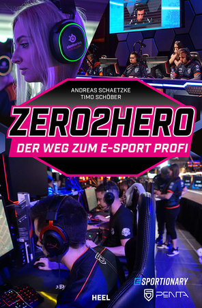 Buchcover Zero2Hero: So wirst Du zum Gaming-Profi | Heel Verlag