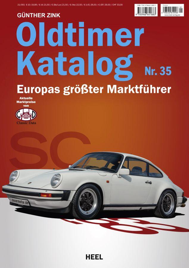 Buchcover - Der Oldtimer Katalog Nr.35 - Heel Verlag