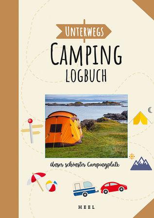 Buchcover Unterwegs: Das Camping Logbuch | Heel Verlag