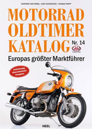 Buchcover Der Motorrad Oldtimer Katalog Nr. 14 | Heel Verlag