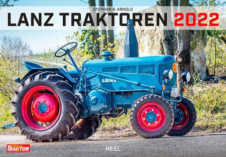 Cover Kalender Lanz Traktoren 2022 | Heel Verlag