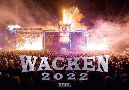 Kalendercover Der offizielle Wacken-Kalender 2022   Heel Verlag