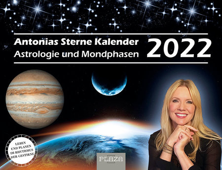 Kalendercover Antonias Sterne - Astrologie-Kalender 2022 | Heel Verlag