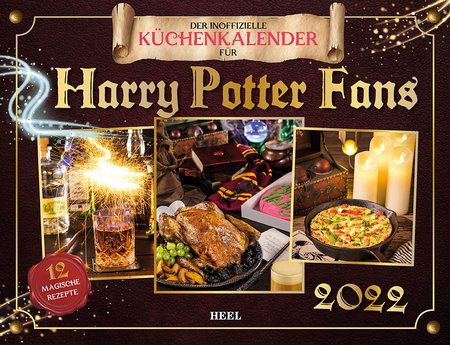 Kalendercover Der Harry-Potter-Küchenkalender | Heel Verlag