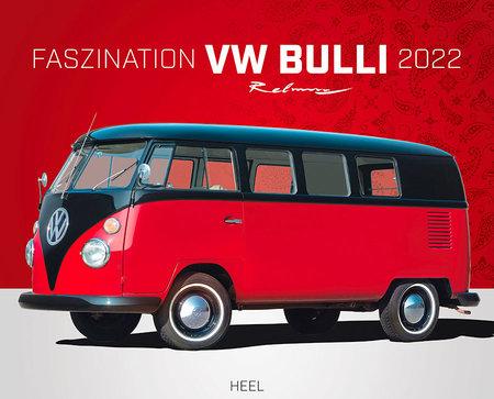 Cover Kalender Faszination VW Bulli 2022 | Heel Verlag