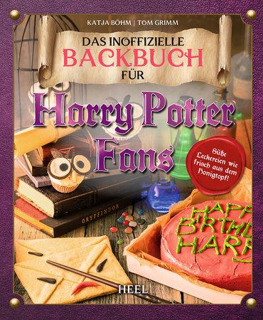 Buchcover Das Harry Potter Backbuch   Heel Verlag