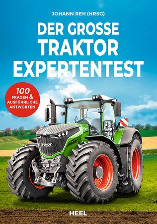 Buchcover Der grosse Traktor Experten Test   Heel Verlag