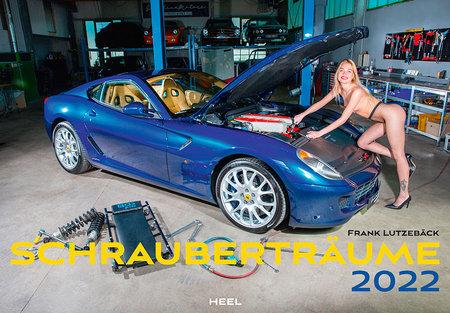 Cover Schrauberträume 2022   Heel Verlag