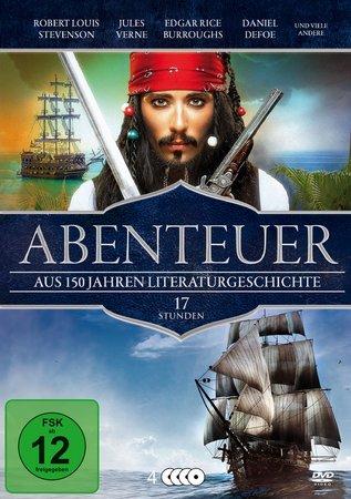 Cover Abenteuerfilme aus 150 Jahren Weltliteratur (DVD) | Heel Verlag