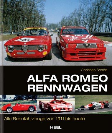 Buchcover Alfa Romeo Rennwagen | Heel Verlag