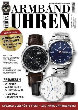 Magazincover Armbanduhren Magazin 7/2020   Heel Verlag