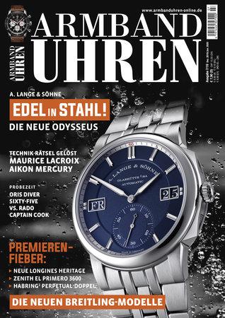 Magazincover Armbanduhren Magazin 7/2019 | Heel Verlag