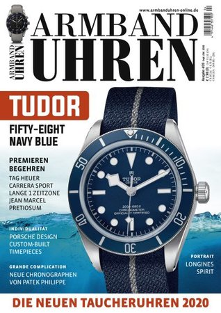 Magazincover Armbanduhren Magazin 4/2020 | Heel Verlag