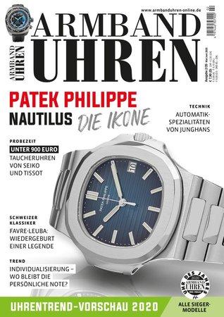 Magazincover Armbanduhren Magazin 2/2020 | Heel Verlag