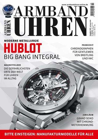 Magazincover Armbanduhren Magazin 3/2020 | Heel Verlag