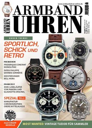 Magazincover Armbanduhren Magazin 2/2021 | Heel Verlag