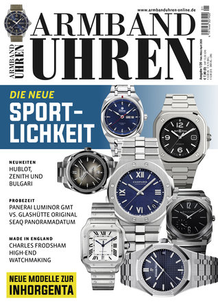 Magazincover Armbanduhren Magazin 1/2020 | Heel Verlag