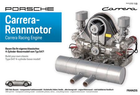 Artikelabbildung Bausatz Porsche Carrera Rennmotor | Heel Verlag