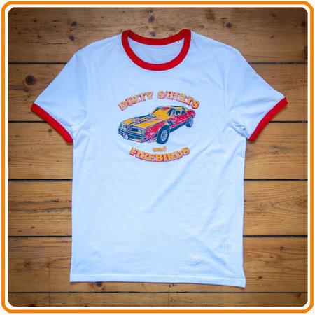 Artikelbild Authentisches 70er Jahre Shirt: Dirty Shirts & Firebirds | Heel Verlag