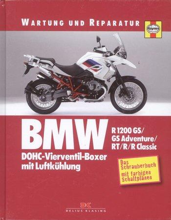 Buchcover Schrauberhandbuch BMW R 1200 - Wartung und Reparatur | Heel Verlag