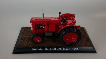 Abbildung Sammlermodell Bolinder 470 Munktel Bison von 1964 - Maßstab 1:32 | Heel Verlag