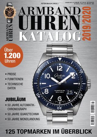Buchcover Armbanduhren Katalog 2019 | Heel Verlag