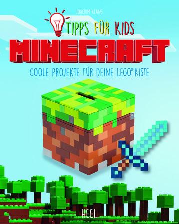 Buchcover Minecraft - Coole Projekte für deine LEGO-Kiste | Heel Verlag