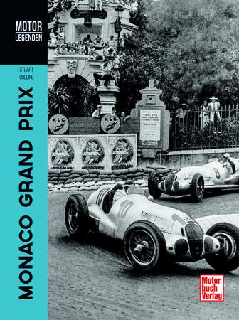 Buchcover Motorlegenden - Monaco Grand Prix | Heel Verlag