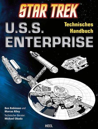 Buchcover U.S.S. Enterprise Technisches Handbuch | Heel Verlag