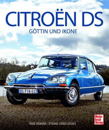 Buchcover Citroen DS - Göttin und Ikone   Heel Verlag