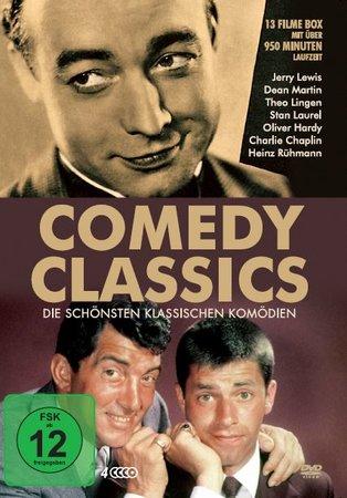 Cover Comedy-Klassiker auf 4 DVDs | Heel Verlag