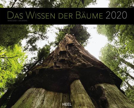 Cover Kalender Das Wissen der Bäume 2020 vom Heel Verlag