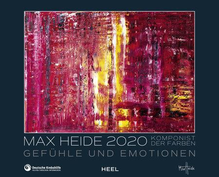 Cover Kalender Max Heide 2020 vom Heel Verlag