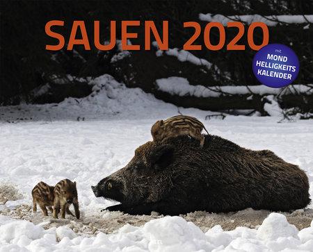 Cover Kalender Sauen 2020 vom Heel Verlag