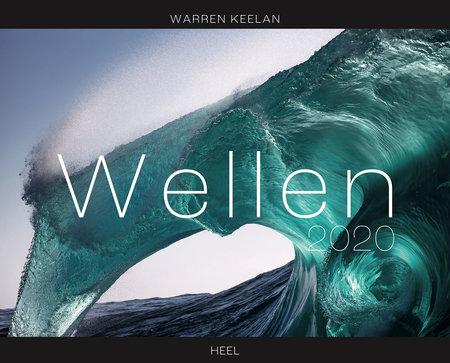 Cover Kalender Wellen 2020 vom Heel Verlag
