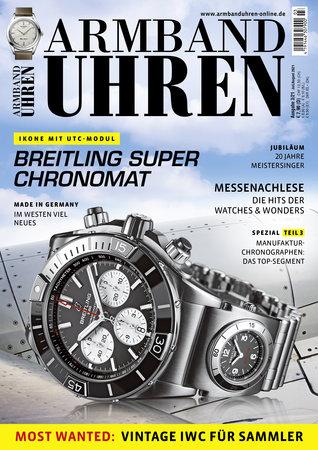 Magazincover Armbanduhren Magazin 3/2021 | Heel Verlag