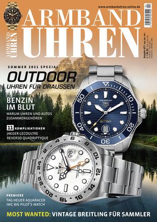 Magazincover Armbanduhren Magazin 4/2021   Heel Verlag