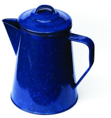 1 Ltr. Cowboy-Kaffeekanne aus Emaille | Heel Verlag