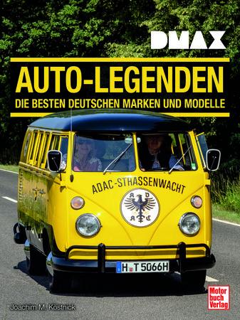 Buchcover DMAX Auto-Legenden Die besten Deutschen Marken ... | Heel Verlag
