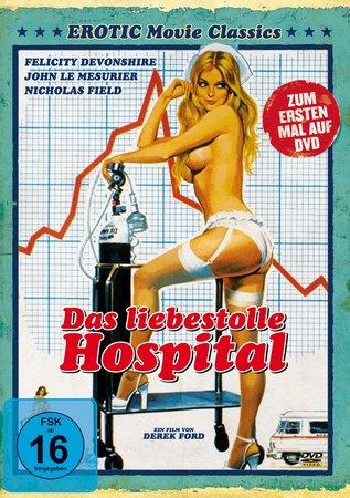 Cover Das liebestolle Hospital DVD | Heel Verlag