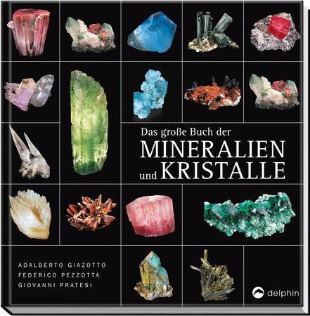 Buchcover Das große Buch der Mineralien und Kristalle   Heel Verlag