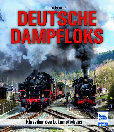 Buchcover Deutsche Dampfloks - Klassiker des Lokomotivbaus | Heel Verlag