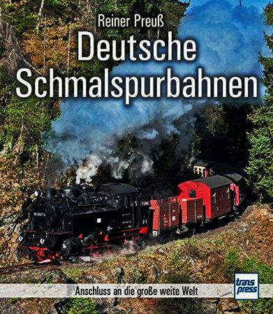 Buchcover Dt. Schmalspurbahnen - Anschluss an die große weite Welt | Heel Verlag
