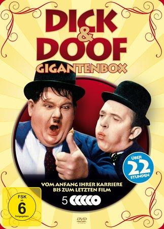 Cover Dick & Doof - Die komplette DVD-Box | Heel Verlag