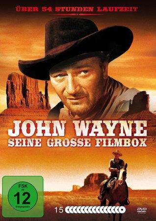 Cover Alles mit John Wayne: 54 Western deLuxe   Heel Verlag