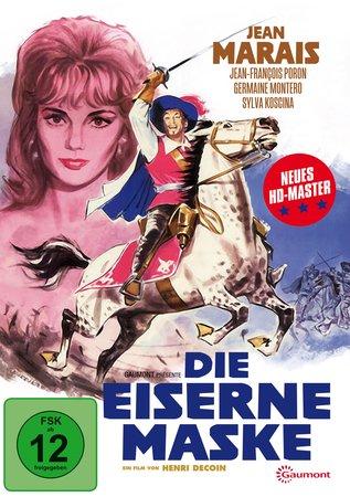Cover Die eiserne Maske - Kinofassung (DVD) | Heel Verlag