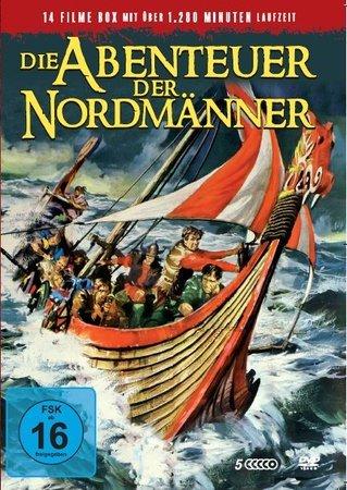 Cover Die Abenteuer der Nordmänner (5 DVDs)   Heel Verlag
